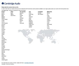 Thumbshot of Cambridgeaudio.com
