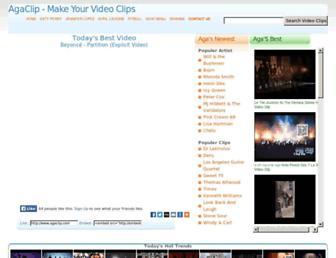 video.agaclip.com screenshot