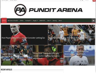 punditarena.com screenshot