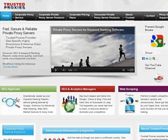 Thumbshot of Trustedproxies.com