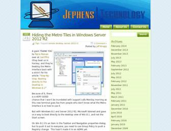 jephens.com screenshot
