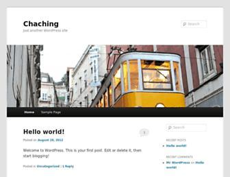 Thumbshot of Chachingblueprint.com