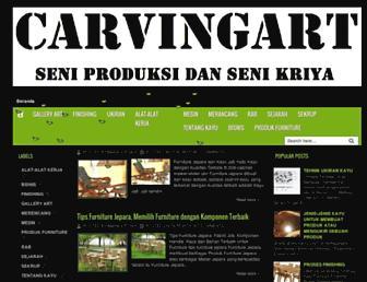 carvingart77.blogspot.com screenshot