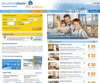 barcelonacheckin.com screenshot