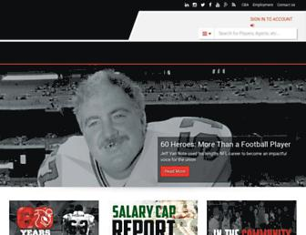 nflpa.com screenshot