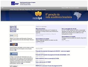 www1.rnp.br screenshot