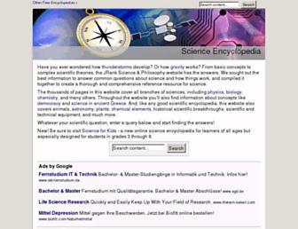 science.jrank.org screenshot
