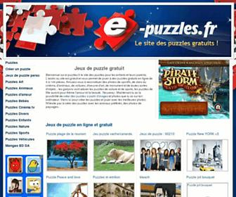 e-puzzles.fr screenshot