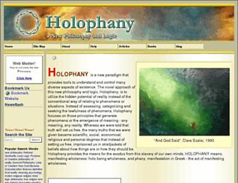 holophany.com screenshot