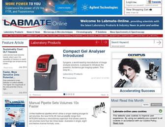 labmate-online.com screenshot