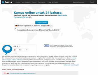 babla.co.id screenshot