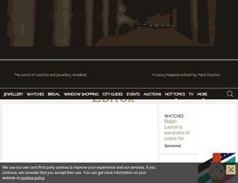 Thumbshot of Thejewelleryeditor.com