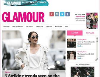 glamour.co.za screenshot