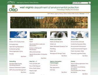 dep.wv.gov screenshot