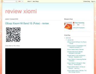 reviewxiomay.blogspot.com screenshot