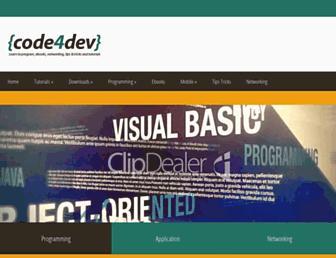 code-devs.blogspot.com screenshot