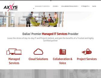 axxys.com screenshot