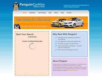 penguincarhire.com screenshot