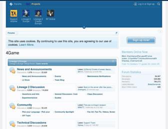eu.4gameforum.com screenshot