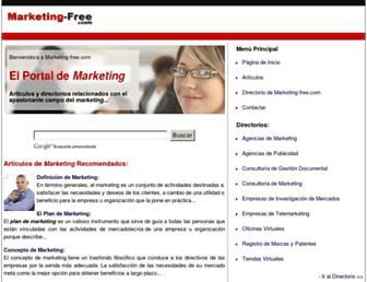 marketing-free.com screenshot