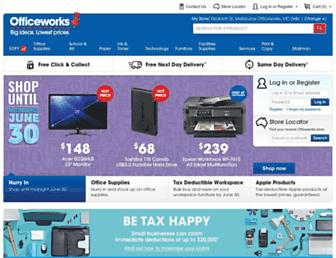 Thumbshot of Officeworks.com.au