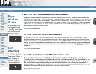 divxmovies.com screenshot