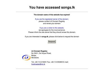 songs.lk screenshot
