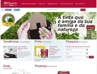 Thumbshot of Tintasrenner-deco.com.br
