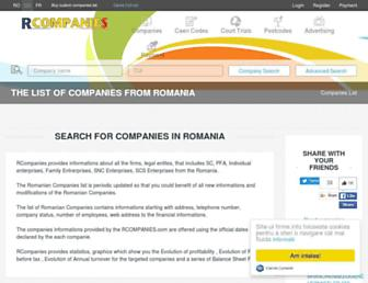 rcompanies.com screenshot
