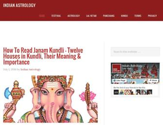 Thumbshot of Indianastrology.co.in