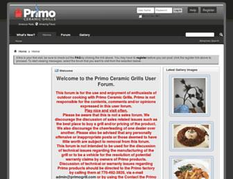 primogrillforum.com screenshot