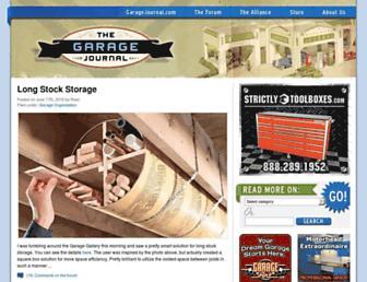 garagejournal.com screenshot