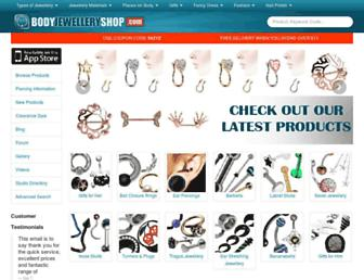 Thumbshot of Bodyjewelleryshop.com
