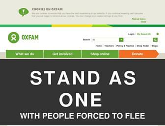 Thumbshot of Oxfam.org.uk