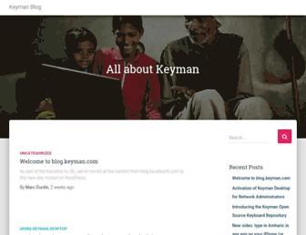 blog.keyman.com screenshot
