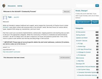 community.active911.com screenshot