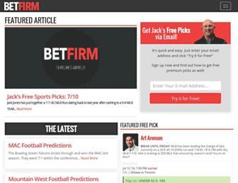 betfirm.com screenshot