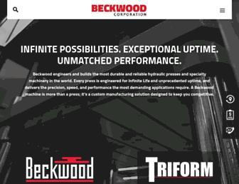 beckwoodpress.com screenshot