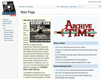 archiveteam.org screenshot