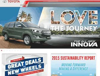 Thumbshot of Toyota.com.ph