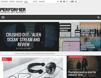 performermag.com screenshot
