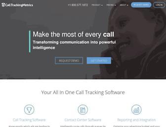 calltrackingmetrics.com screenshot