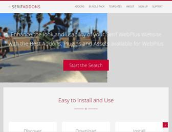 serifaddons.com screenshot