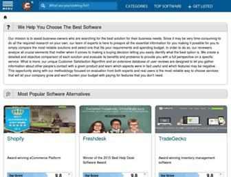 alternatives.financesonline.com screenshot