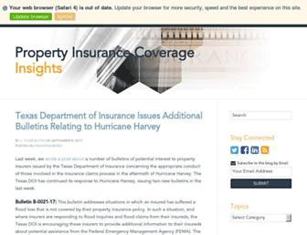 propertyinsurancecoverageinsights.com screenshot
