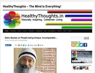 Thumbshot of Healthythoughts.in