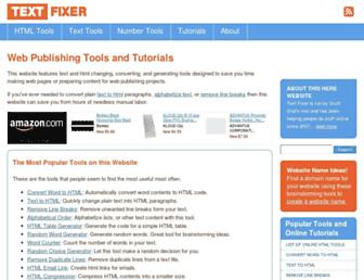 Thumbshot of Textfixer.com
