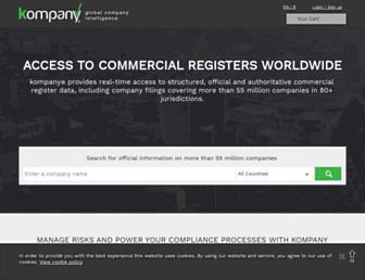 kompany.com.au screenshot