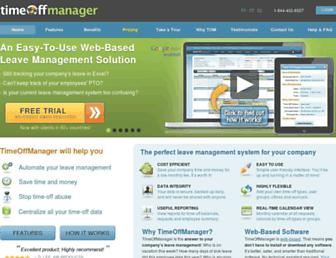 Thumbshot of Timeoffmanager.com