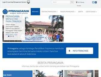 primagama.co.id screenshot